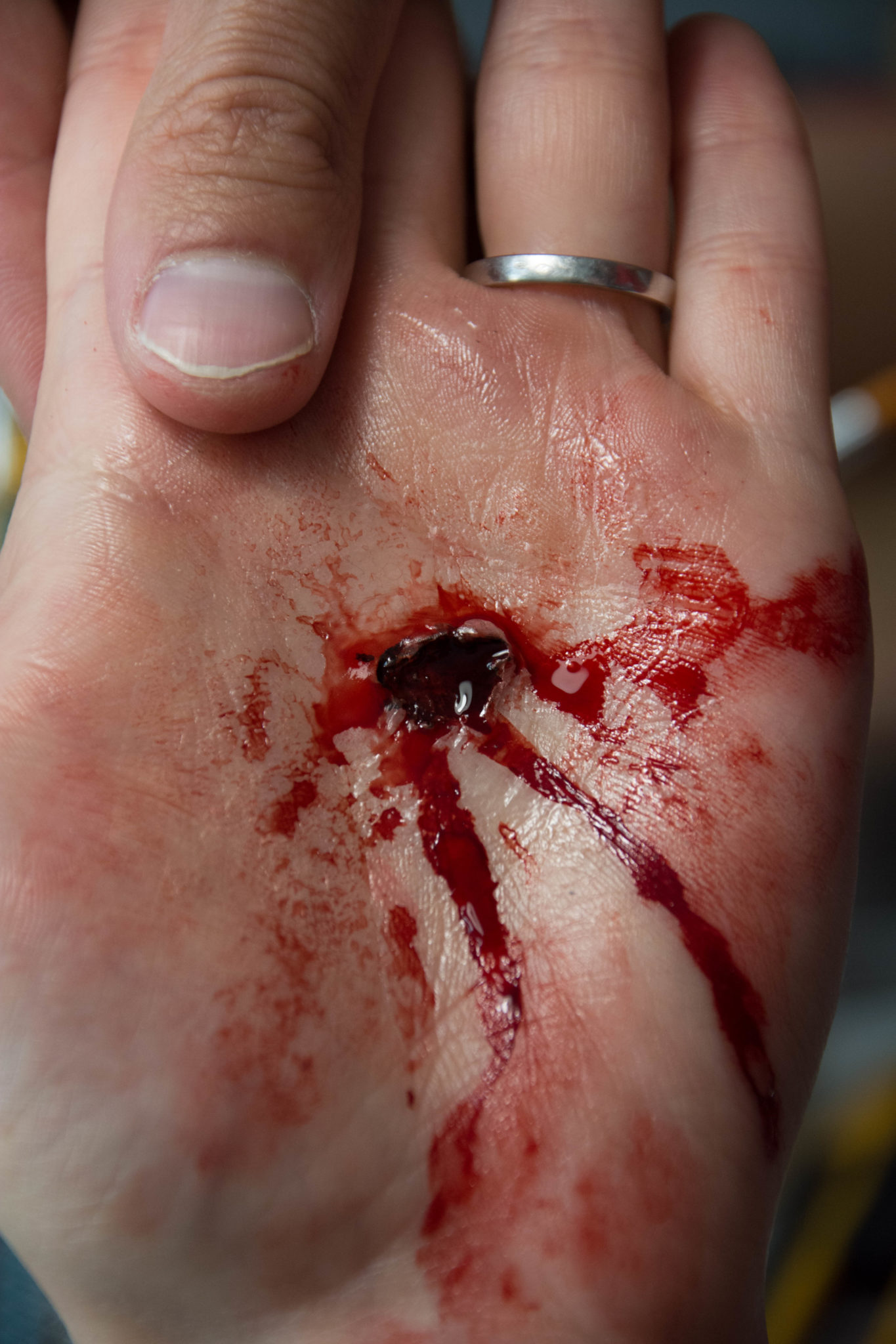 prothèses blessures maquillage sfx