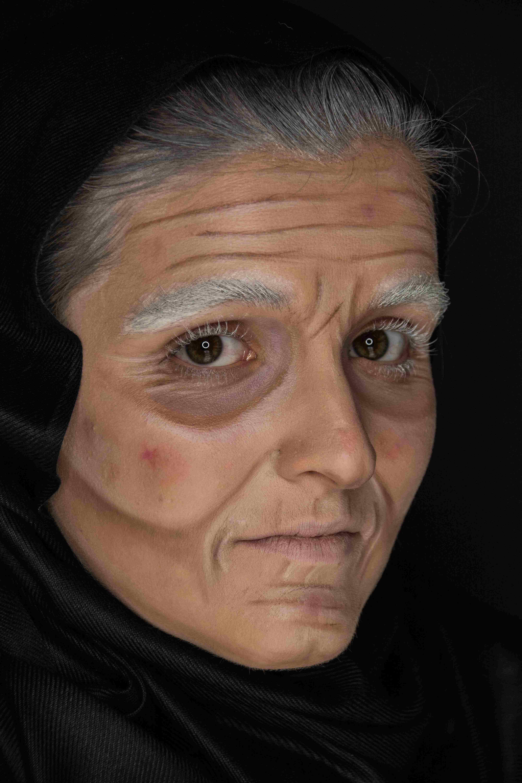 théâtre , vieillissement , école , maquillage